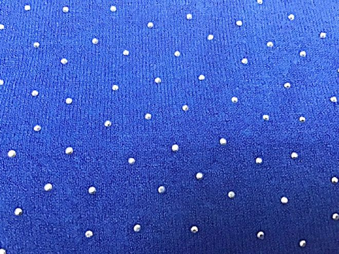 Sparkle Convertible Ponshawl ~ Electric Blue